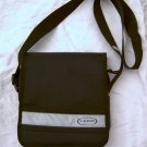 Black nylon sport purse handbag for girl teen or women