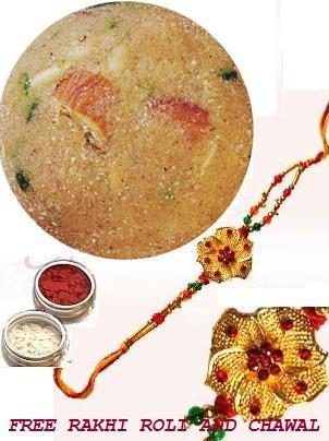 Haldirams Churma Ladoo + Rakhi Kit