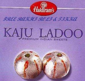 Haldirams Kaju Ladoo  + Rakhi Kit