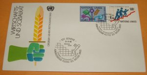 Foreign United Nations First Day Cover