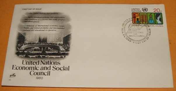 United Nations 1980 Economic and Social Council