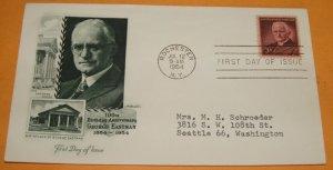 100th Birthday Anniversary of George Eastman, (Kodak)