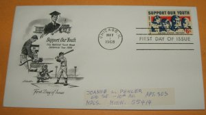 Support Our Youth, Elks National Youth Week, First Day Cover (FDC)