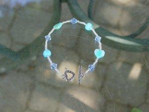 Unique heart bracelet
