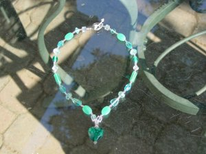 Summer blue necklace!