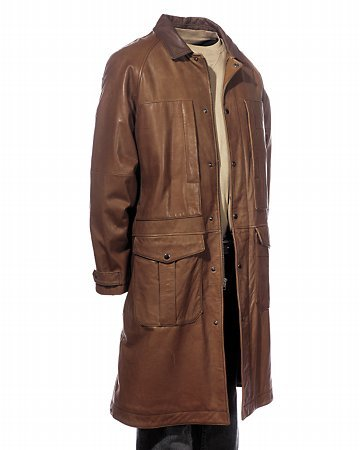 Men's Leather Duster