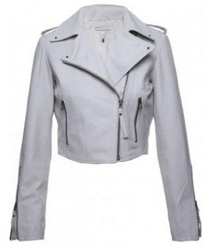 Womens Biker III Leather Jacket