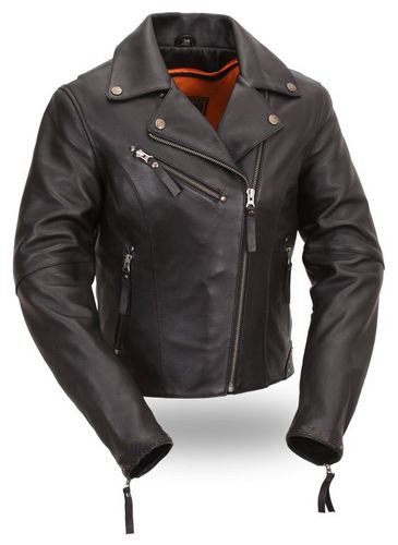 Womens Biker I Leather Jacket