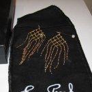 NIB Erwin Pearl Gold Tone Chandelier Dangle Earrings New in Box Jewelry Pouch