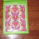 NWT $48 Vera Bradley Snap on Case For iPad Lilli Bell Box PINK Pattern Hardshell