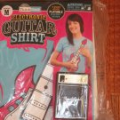 Electronic Guitar Shirt XL T-Shirt Based Electic Guitar Think Gink New short slv