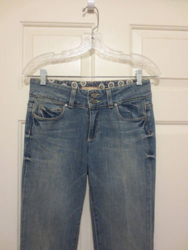 "Paige Premium Denim Hidden Hills Jeans size 27 Mid Rise Flare 31.5"" inseam"