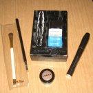 New Sephora Volume Mascara Lorac Duo Pewter Eyeshadow Eyeliner Brush Lot Full Sz