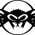 black flys logo vinyl decal sticker