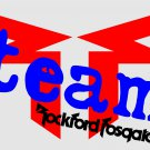 ROCKFORD FOSGATE TEAM FULL COLOR VINYL DECAL STICKER