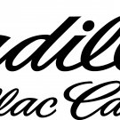 CADILLAC VINYL DECAL STICKER SET OF 3!