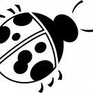 ladybug vinyl decal sticker
