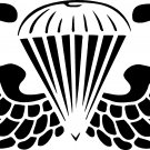 "AIRBORNE PARATROOPER VINYL DECAL STICKER 7"" WIDE!!"
