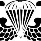 """AIRBORNE PARATROOPER VINYL DECAL STICKER 7"""" WIDE!!"""