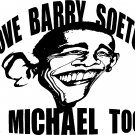 "anti obama barry soetoro vinyl decal sticker 7.25"" wide!"