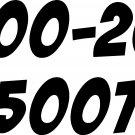 800 toll free # 1-800-200-5007