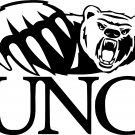 unc northern colorado university bears vinyl decal sticker