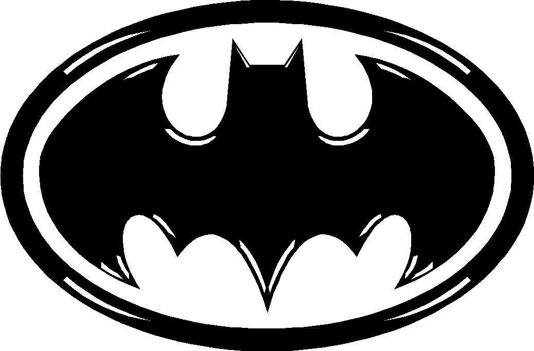 BATMAN VINYL DECAL STICKER WITH DETAIL - Batman vinyl decal stickers
