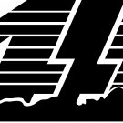 "4 FOUR WHEELIN OFF ROAD 4 X4  WHEELER VINYL DECAL STICKER 12"" WIDE!"