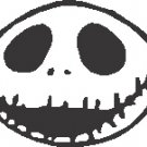 Nightmare Before Christmas Jack Skellington Car Truck Window Vinyl Decal Sticker