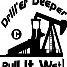 "oil field worker roughneck vinyl decal sticker 10"" tall !!"