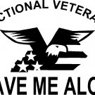 dysfunctional veteran leave me alone decal / sticker for veteran wife
