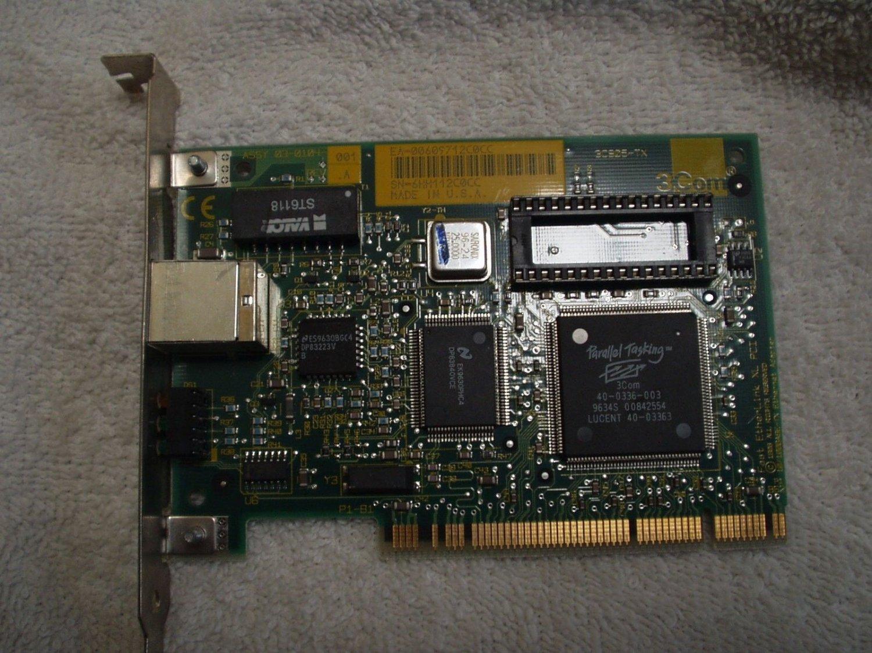 3Com Fast Etherlink XL PCI 10/100 Base-TX ethernet adapter 3c905-tx