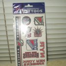 new york rangers temporary tatoos 10 per sheet sealed nhl licensed