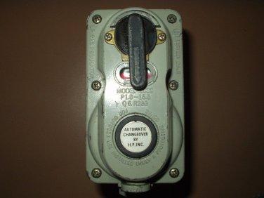 camper propane regulator automatic changeover h.p. inc.model 6000 vintage