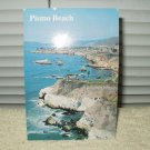 POSTCARD  PISMO BEACH CALIFORNIA COAST NORTH TO SHELL BEACH VINTAGE