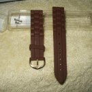 watch strap all strap brown rubber waterproof 16-22 mm for all watches