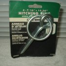 "hitching ring screw tie down 2"" opening 4 7/16"" x 15/16"" lehigh #7235"