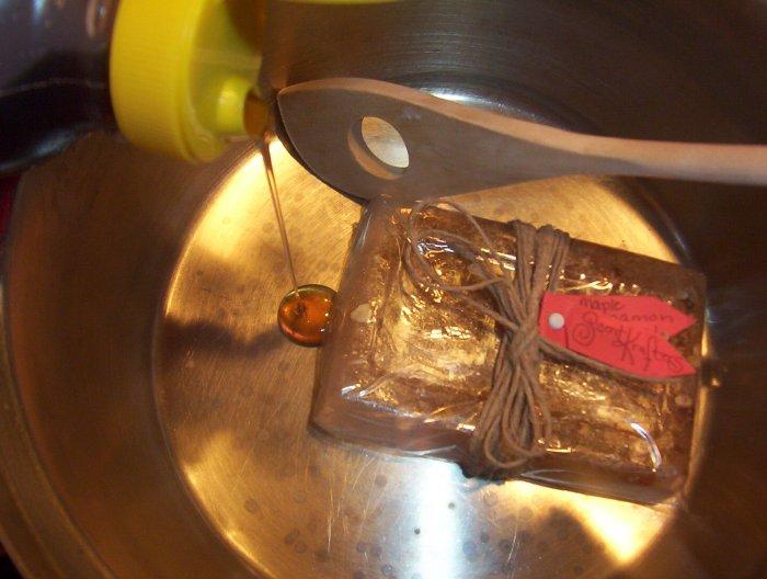 Maple Cinnamon Oatmeal Soap