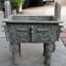 ANTIQUE CHINESE BRONZE BURNER