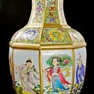CHINESE PORCELAIN OCTAGON VASE WITH YONGZHENG MARK