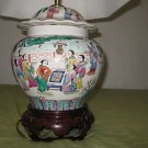 ANTIQUE RARE CHINESE PORCELAIN VASE LAMP