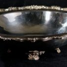VINTAGE POOLE OLD ENGLISH SILVER PLATE WITH  FOOTED