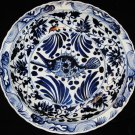 HUGE 44.5CM CHINESE PORCELAIN FISH B&W CHARGER PLATE,19TH C., XUANDE MARK, NR.