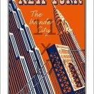 New York Wonder City #2 - 11x17 inch Vintage Travel Poster