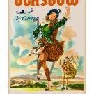 Pan Am - Glasgow Scotland 11x17 inch Vintage Airline Travel Poster