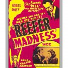 Reefer Madness #4 -  Restored Vintage Film-Movie Poster 2 sizes avail.