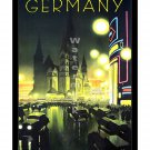 Germany #3 - Vintage Travel Poster [4 sizes, matte+glossy avail]