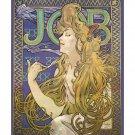 Alphonse Mucha Job 1896 Vintage Art Nouveau Poster [6 sizes, matte+glossy avail]