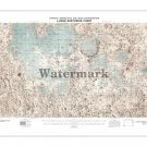 1976 NASA Lunar Earthside Map - Moon Map [4 sizes, matte+glossy avail]
