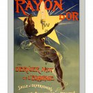 Rayon d'Or - 19th Century Art Nouveau Poster/Print [4 sizes, matte+glossy avail]